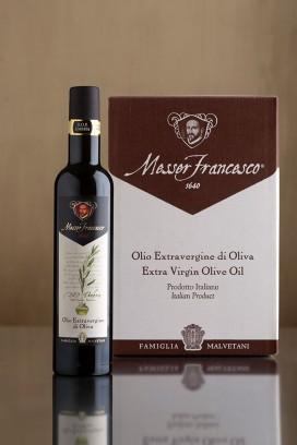 Olio Extravergine di Oliva Messer Francesco 1640 Cartone 6 x 0,5L