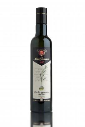 MESSER FRANCESCO Olio Extravergine di Oliva 100% Italiano - Bottiglia da 0,5 Lt